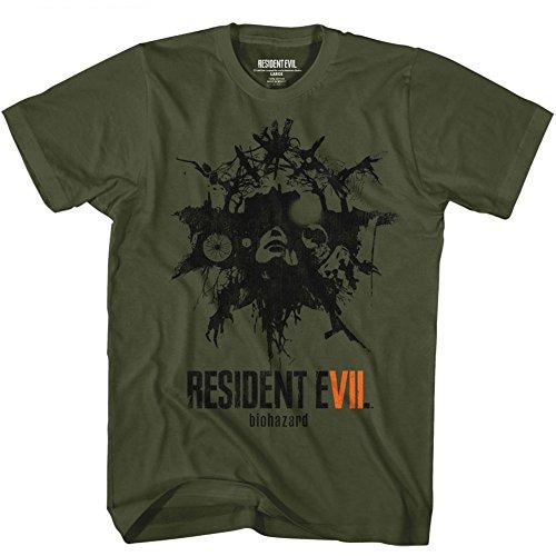 Courtes Classics Green Opaque Homme American Manches shirt T Vert Bfw1qaP