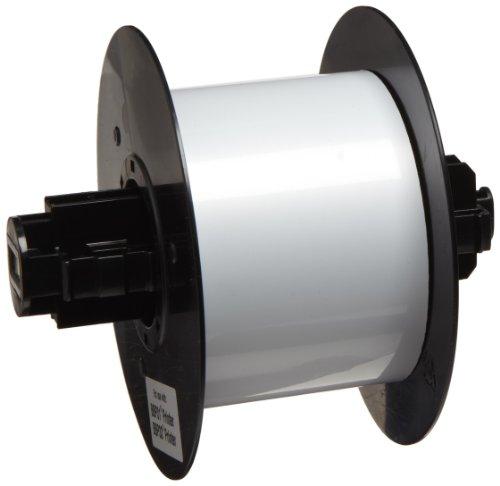 Brady B30C-2500-509-WT 25 feet Length x 2.5'' Width, B-509 Polyester, White BBP31 Magnetic Supply by Brady