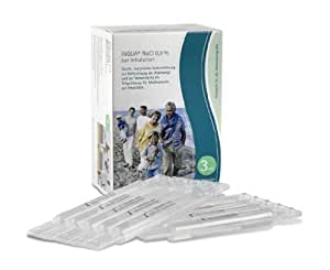 Inqua 502G0300 NaCl - Ampollas para inhalador (0,9%, 30 unidades de 3 ml)