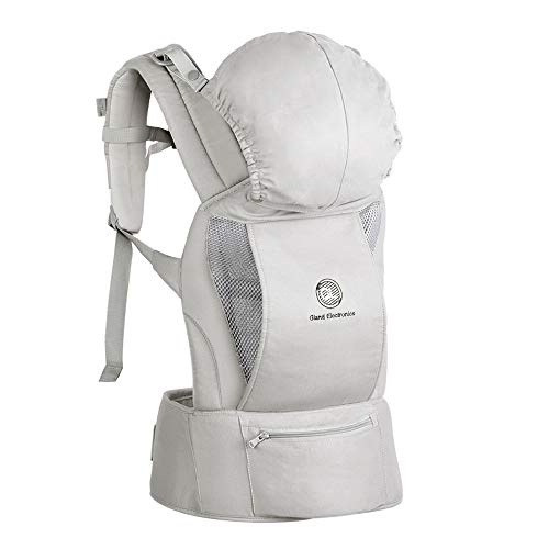 Baby Carrier - Ergonomic Baby Carrier with Hip Seat, Natural Form Baby Carrier Backpack for All Seasons Natural,All-in-One Baby Carrier, Ventilated Carrying Sling Wrap Baby Backpack Carrier for Nursi from Gland Electronics