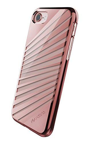 X-Doria Etui pour iPhone 7 Rayons dorés roses