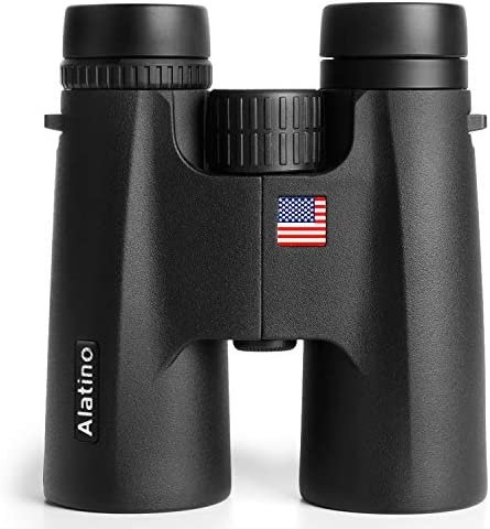 10×42 Adults Binoculars for Bird Watching, Hunting and Sports Events