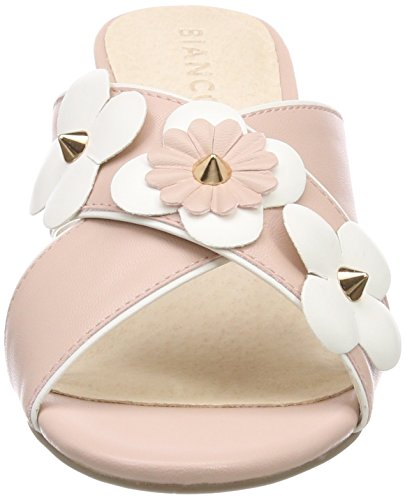 Powder 29 Cross Flower Femme Mules Bianco Sandal Beige g7FwqYq