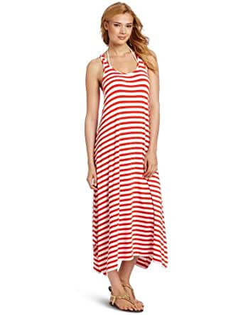 Seafolly Women's Harbour Dress, Dark Coral, Medium