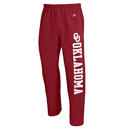 Oklahoma Sooners Sweatpants Pockets Crimson - XL