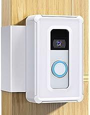 DG-Direct Anti-Theft Doorbell Mount,Video Doorbell Door Mount for Home Apartment Office Room Renters, Fit for Ring Video Doorbell(White)