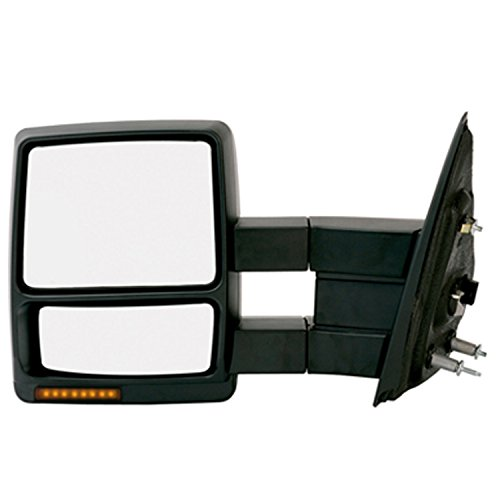 KSource Fit System 61218F Towing Mirror with Turn Signal ...
