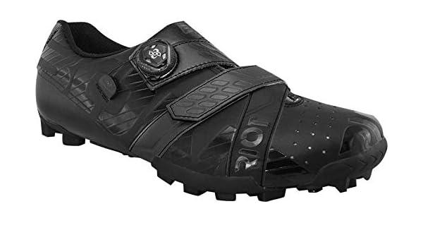 BOA Cycling Shoe BONT Riot MTB Euro 46.5 Black//Grey