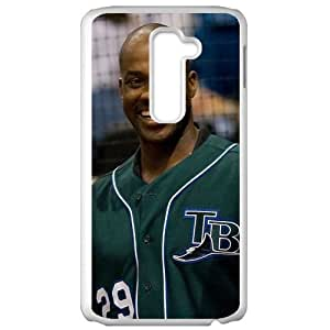 MLB&LG G2 White Tampa Bay Devil Rays Gift Holiday Christmas Gifts cell phone cases clear phone cases protectivefashion cell phone cases HMFN635586726