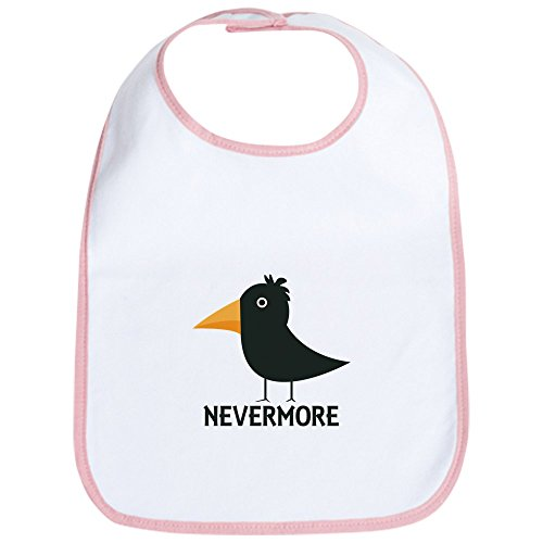 CafePress Nevermore Raven Bib Cute Cloth Baby Bib, Toddler Bib (Nevermore The Best Of Raven)
