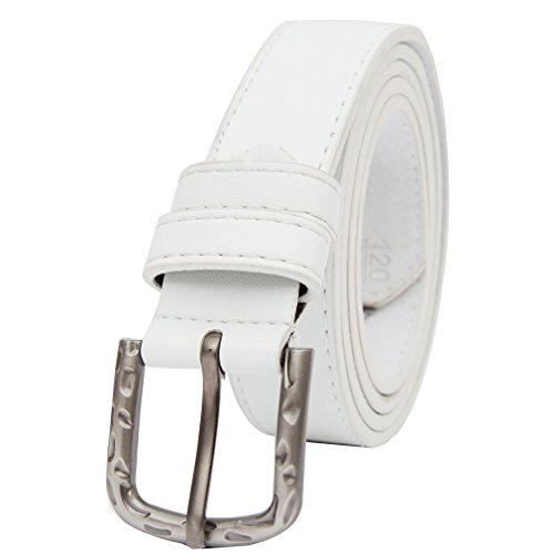 Beltox Womens Solid Stitched Buckle