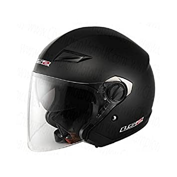Casco-LS2 TRACK 569,2 L, color negro mate, color negro