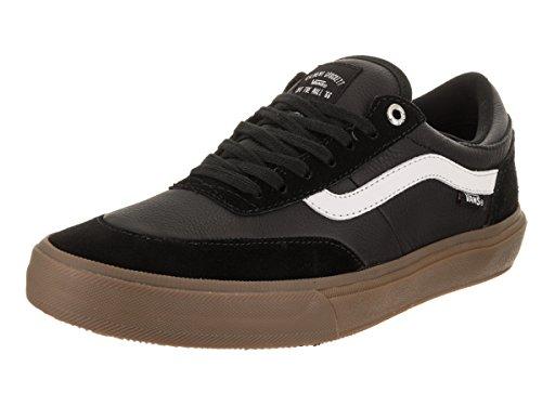 Der Gilbert Crockett-Skate-Schuh der Vans-Männer Schwarz / Weiß / Gummi