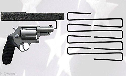 Rack and Mount Fun Easy Use Gun Hanger Pack of 5 Original Handgun Hangers