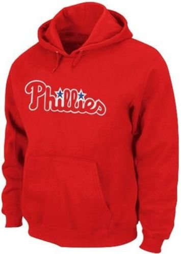 Majestic Philadelphia Phillies 300 Hitter Club Pullover Hoodie Big & Tall Sizes (4XL)