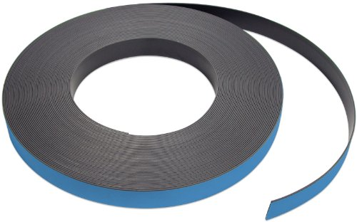 Flexible Magnet Strip with Blue Vinyl Coating, 1/32