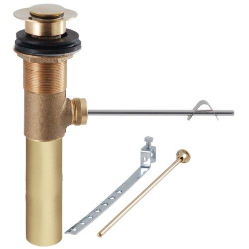 Lavatory Faucet Ldr (LDR 501 9950PB Complete Pop-Up Unit, Polished Brass)