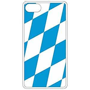 Bavaria Flag White Apple Iphone 6 (4.7 Inch) Cell Phone Case - Cover