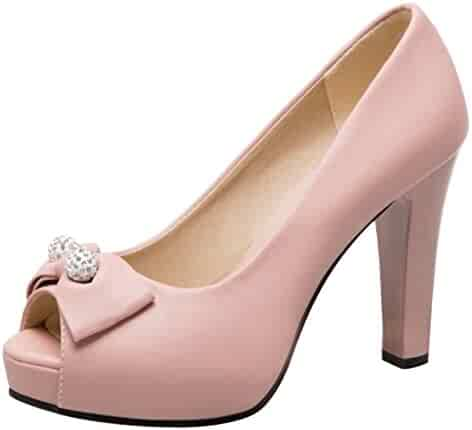 65556c81c1cb9 Shopping Pumps - Shoes - Women - Clothing, Shoes & Jewelry on Amazon ...