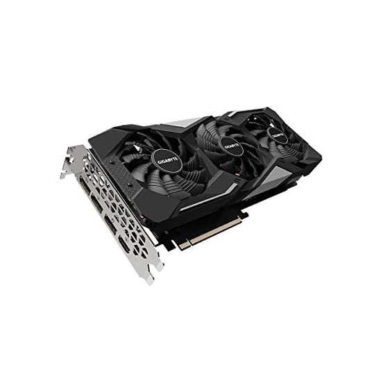 GIGABYTE Radeon RX 5600 XT Gaming OC 6G Graphics Card, PCIe 4.0, 6GB 192-Bit GDDR6, GV-R56XTGAMING OC-6GD Video Card 41U7c3cQMpL. SS555