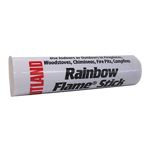 Rutland 715C Rainbow Flame Stick - 36 Pieces]()