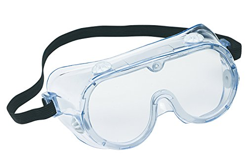 3M 91252-80024-10 Chemical Splash/Impact Goggle, 10-Pack ()