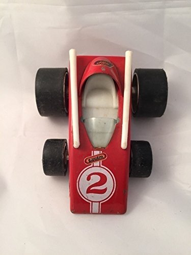 Motorized Zoomer Boomer Toy Vintage Red Race Car Zoomer Car