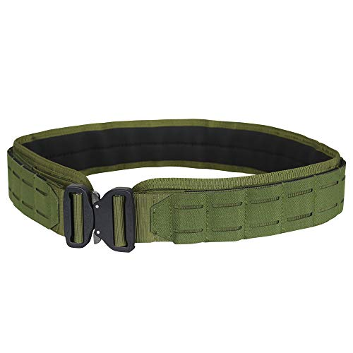 "Condor Outdoor LCS Cobra Tactical Belt 121175 (OD Green, Small/Medium: 34.5"" - 38.5"" Long, Waist 30""-32"")"
