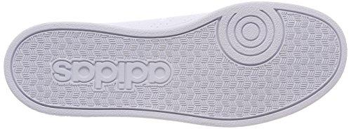 adidas Vs Advantage CL K, Zapatillas de Deporte Unisex Niños Blanco (Ftwbla/Ftwbla/Azalre 000)