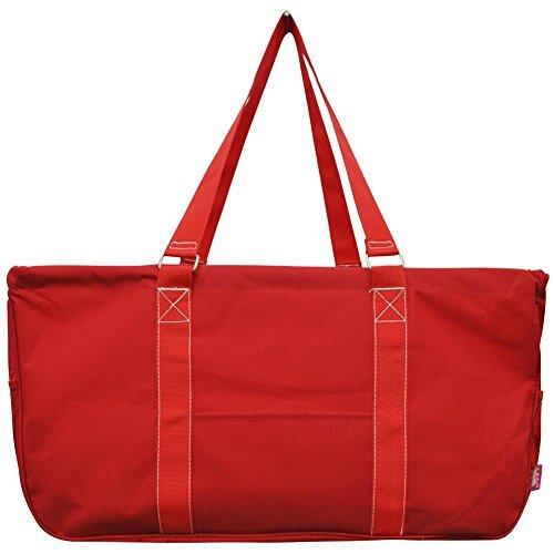 Beach Bag Red - N. Gil All Purpose Open Top 23