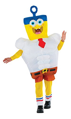 [Rubie's Costume Spongebob Sponge Out of Water Inflatable Child Costume] (Spongebob Squarepants Child Costumes)