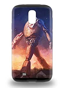 American The Iron Giant Fashionable Phone 3D PC Case For Galaxy S4 With High Grade Design