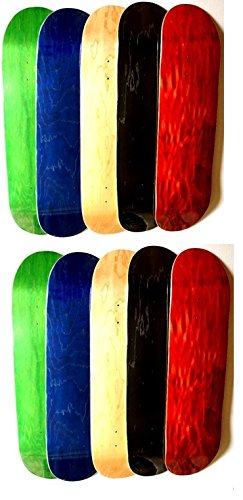 Amazon com : VJ Blank Skateboard Deck 7 75, 8, 8 25 and 8 5