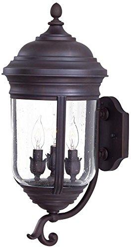 Minka Lavery Outdoor Wall Light 8815-57 Amherst Exterior Wall Lantern, 60 Watts, Bronze