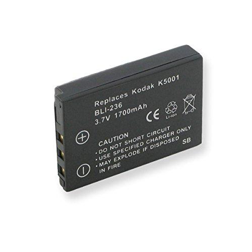 ment Li-Ion Battery for Kodak P850 Digital Cameras - Empire Scientific #BLI-236 ()