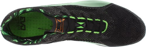 Puma Bolt Evospeed Long Dist Track Shoe,Black/Fluorescent Green,4.5 D US