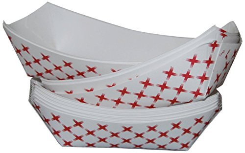 NafgerSales 2 lb--Paper Food Tray --250 pack