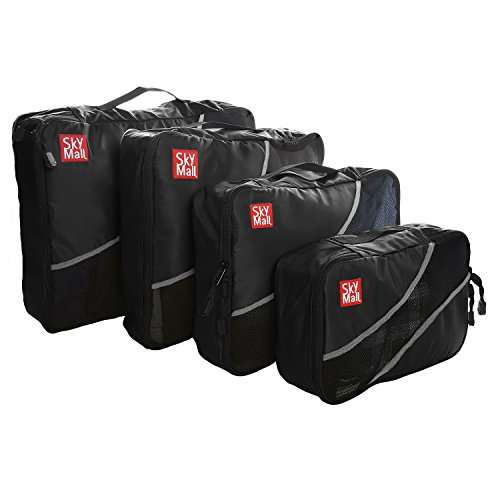 skymall-packing-cubes-travel-bags-luggage-organizer-accessories-4-piece-value-set-durable-nylon-brea