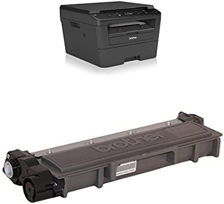 Brother DCP-L2520DW - Impresora multifunción láser monocromo (impresión automática a doble cara, con red cableada), color negro + Brother TN2320 - ...