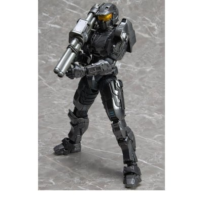 Spartan Mark - Halo Reach Play Arts New York Comic Con 2011 Exclusive Action Figure Spartan Mark V Silver
