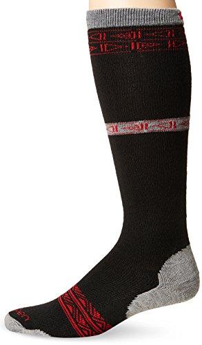 Lorpen Men's T2 Classic Merino Ski Light Socks, Red, Medium