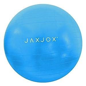 JAXJOX Balance Stability Gym/Swiss Ball 65cm (pump included), Blue