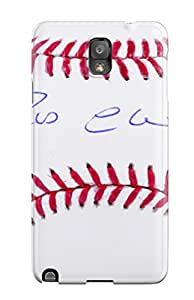 New Style Anti-scratch And Shatterproof Cano Baseball Phone Case For Galaxy Note 3/ High Quality Tpu Case