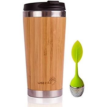 Amazon Com Eco Cup W Silicone Lid Amp Sleeve Coffee Tea I