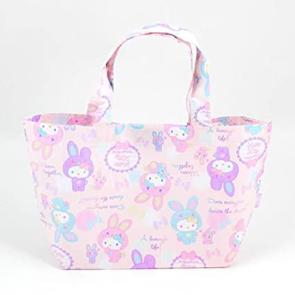 e51ddcb28 Image Unavailable. Image not available for. Color: Hello Kitty Lunch Tote:  Colorful Bunny