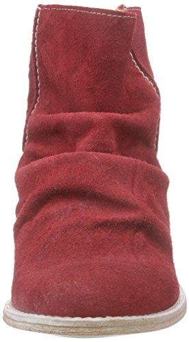 Buffalo London Es 30683 Suede Enrugado - Botas altas Mujer Rojo