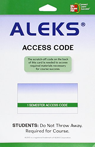 Bundle Version Aleks User Guide   Access Code