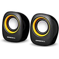 Earise AL-101 3.5mm Mini Computer Speakers Powered by USB...
