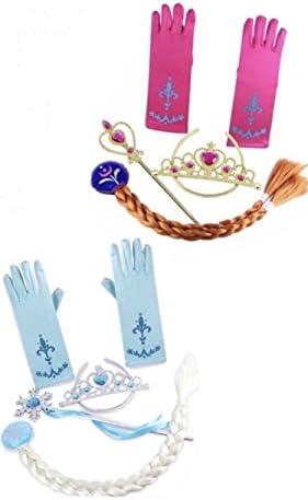 Frozen Inspired Tiara Gloves Braid product image