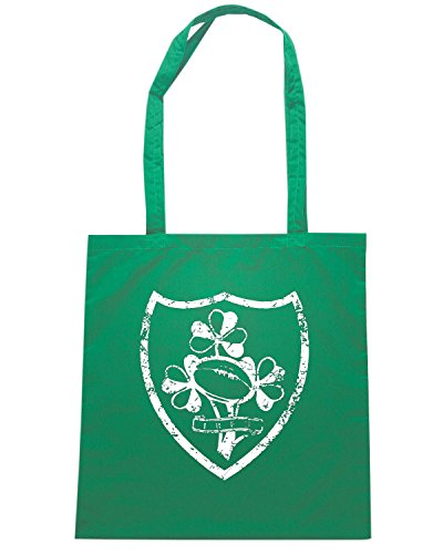 T-Shirtshock - Bolsa para la compra WC0271 CLEARANCE - RUGBY T-SHIRT - IRELAND Verde
